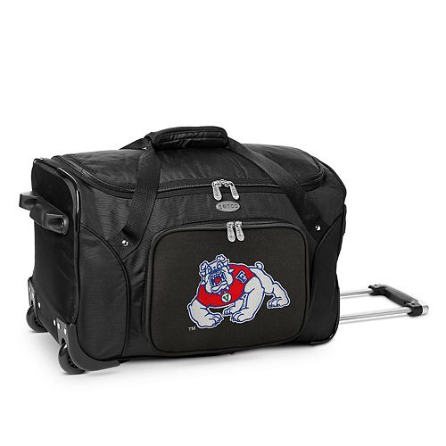 Denco Fresno State Bulldogs 22-Inch Wheeled Duffel Bag