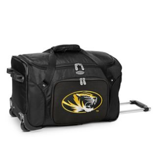 Denco Missouri Tigers 22-Inch Wheeled Duffel Bag