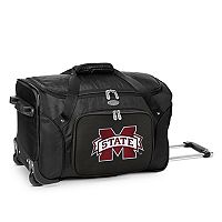 Denco Mississippi State Bulldogs 22-Inch Wheeled Duffel Bag