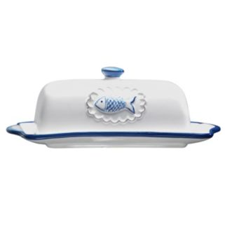 Global Amici San Remo Collection Butter Dish