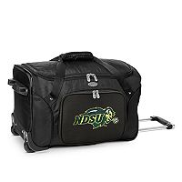 Denco North Dakota State Bison 22-Inch Wheeled Duffel Bag