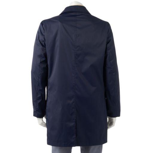 Men's Chaps Packable Travel Rain Jacket