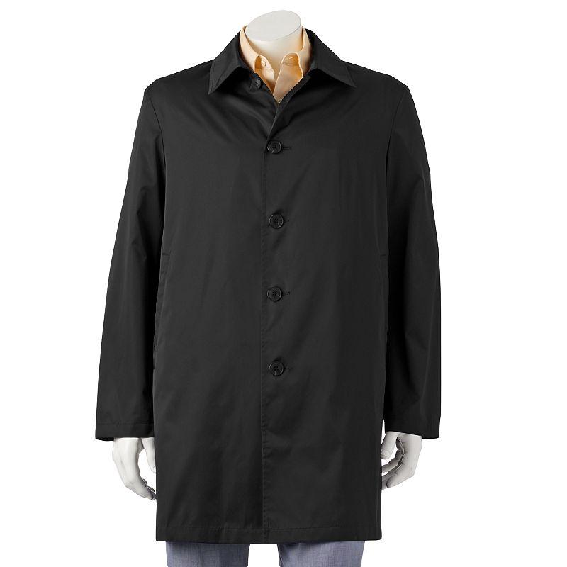 Men's Chaps Packable Travel Rain Coat