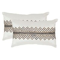 Safavieh 2-piece Gossamer Metals Throw Pillow Set