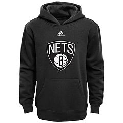 Boys 8-20 adidas Brooklyn Nets Prime Pullover Fleece Hoodie