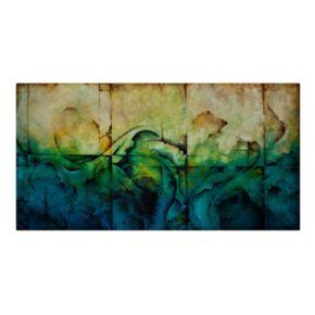 "Trademark Fine Art ""Paradise"" Canvas Wall Art"