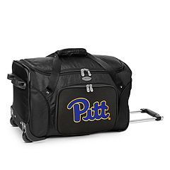 Denco Pitt Panthers 22-Inch Wheeled Duffel Bag