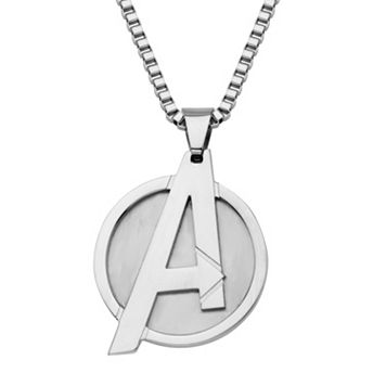 The Avengers Stainless Steel Dog Tag Necklace – Men