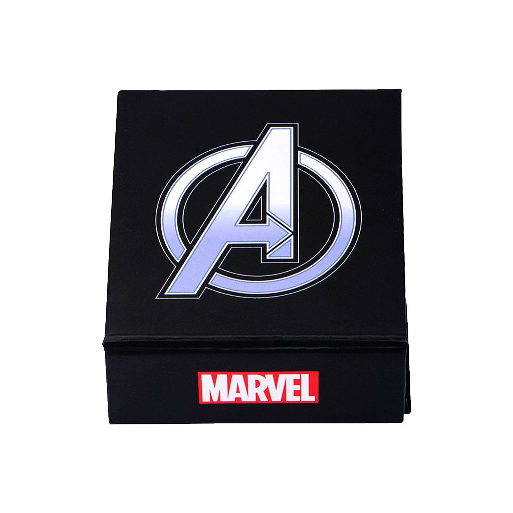 The Avengers Stainless Steel Captain America Dog Tag Necklace - Men