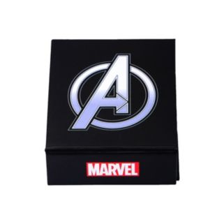 The Avengers Stainless Steel Two Tone Iron Man Dog Tag Necklace - Men