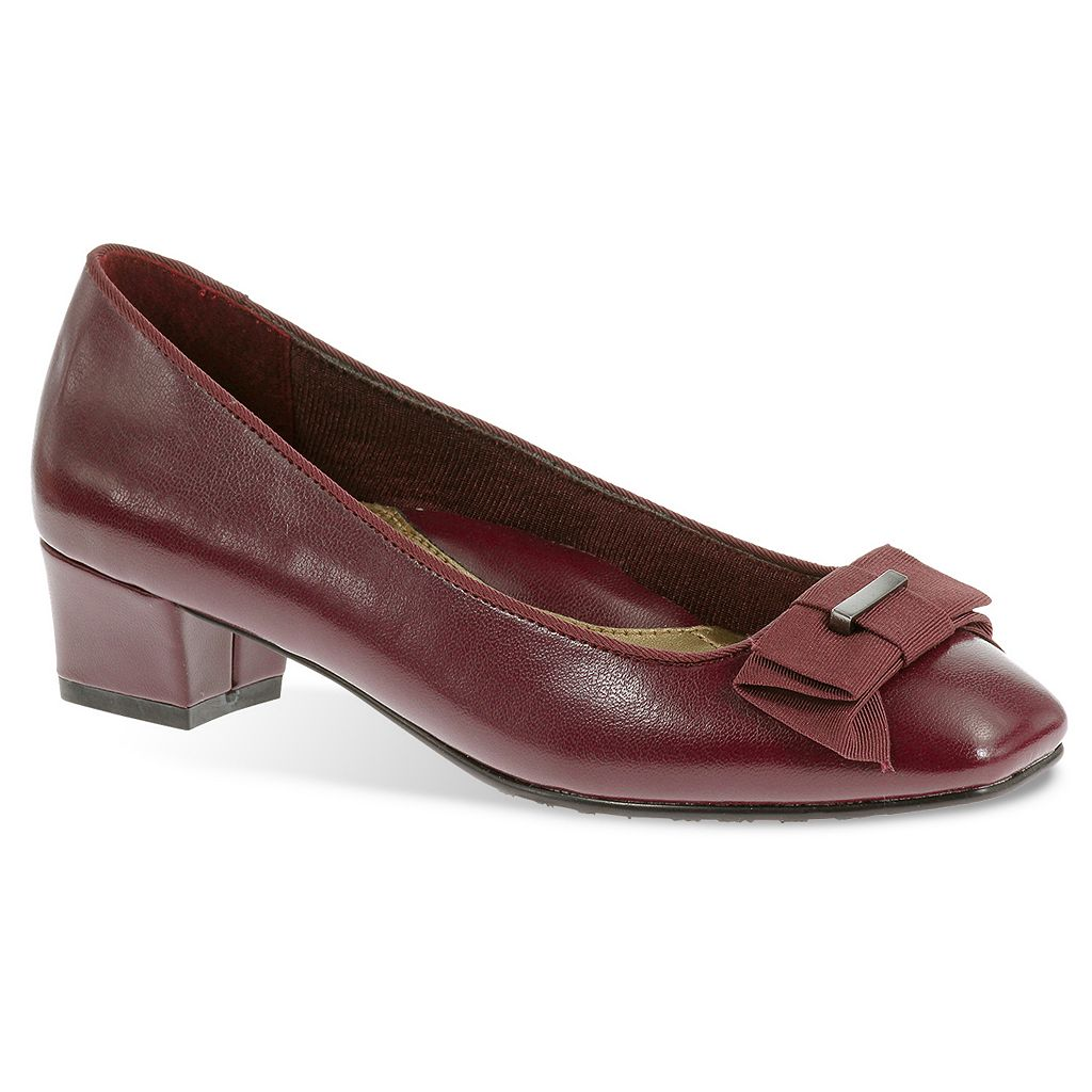Soft Style by Hush Puppies Sharyl Women's Bow Dress Heels