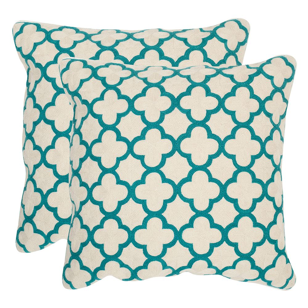 Safavieh 2-piece Sandre Throw Pillow Set