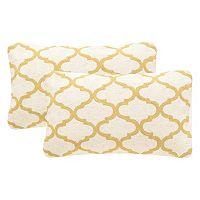 Safavieh 2 pc Rhea Rectangular Throw Pillow Set