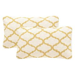 Safavieh 2-piece Rhea Rectangular Throw Pillow Set