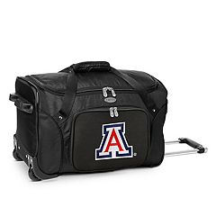Denco Arizona Wildcats 22-Inch Wheeled Duffel Bag
