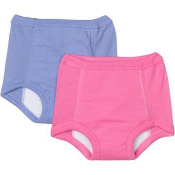 Toddler Girl Jockey 2-pk. Pink & Purple Potty Training Pants