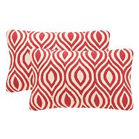 Safavieh 2-piece Metis 12'' x 20'' Throw Pillow Set