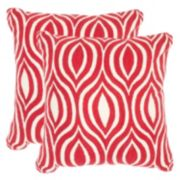 Safavieh 2-piece Metis 20'' x 20'' Throw Pillow Set