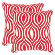 Safavieh 2 pc Metis 20'' x 20'' Throw Pillow Set