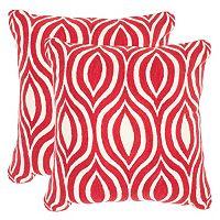 Safavieh 2-piece Metis 20'' x 20'' Throw Pillow Set