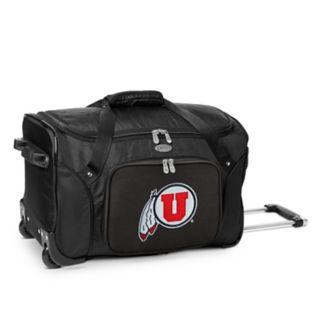 Denco Utah Utes 22-Inch Wheeled Duffel Bag