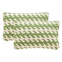 Safavieh 2 pc Linos 12'' x 20'' Throw Pillow Set
