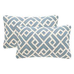 Safavieh 2-piece Swifty 12'' x 20'' Throw Pillow Set