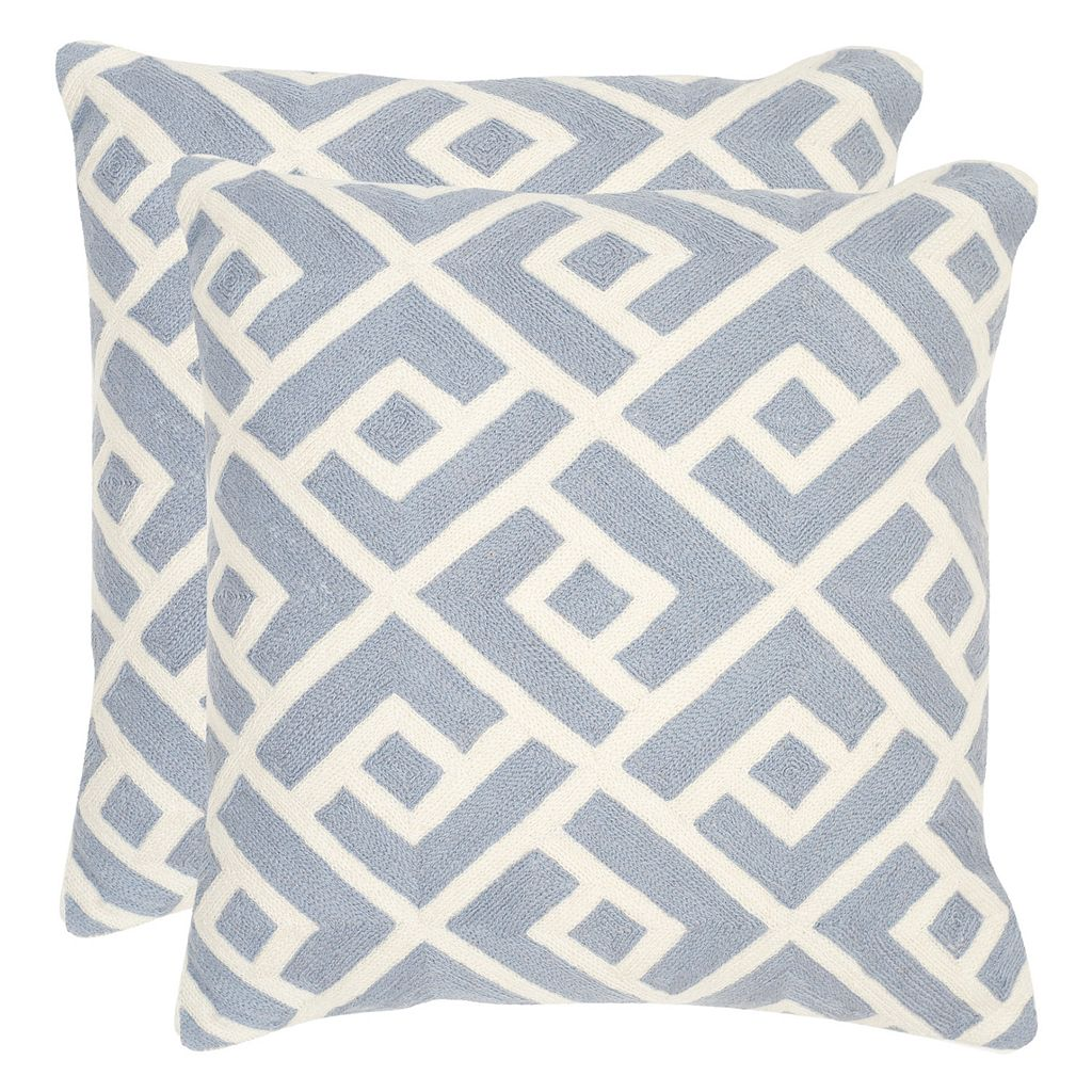 Safavieh 2-piece Swifty 20'' x 20'' Throw Pillow Set