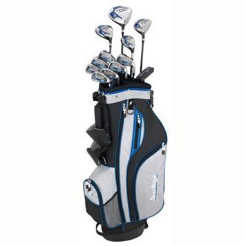 Tour Edge Golf HP25 Right Hand Uniflex Golf Club & Bag Set - Men's