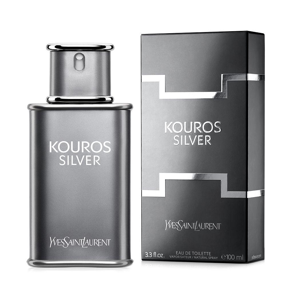 Kouros Silver by Yves Saint Laurent Men's Cologne - Eau de Toilette