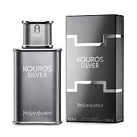 Kouros Silver by Yves Saint Laurent Men's Cologne - Eau de Toilette