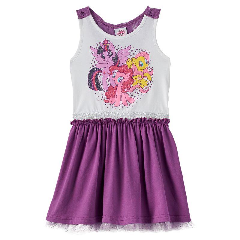 My Little Pony Lace Racerback Dress - Girls 4-6x