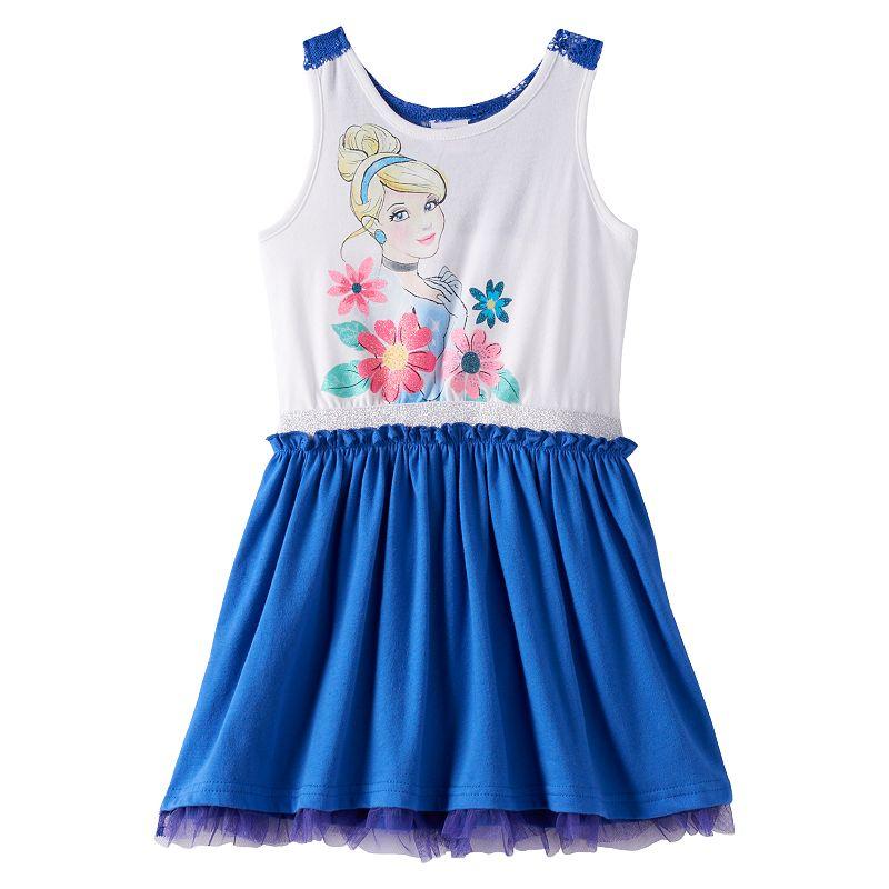 Disney's Cinderella Lace Racerback Dress - Girls 4-6x