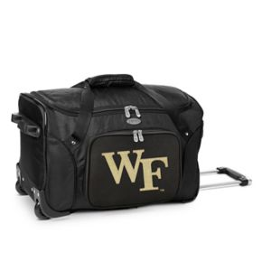 Denco Wake Forest Demon Deacons 22-Inch Wheeled Duffel Bag