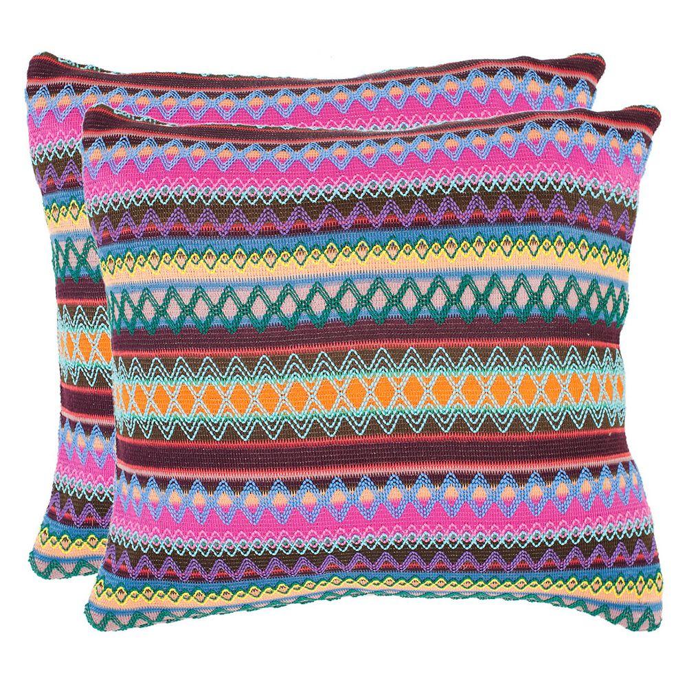 Safavieh 2-piece Mirabelle Throw Pillow Set
