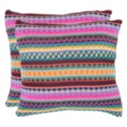 Safavieh 2-piece Mirabelle Throw Pillow Set