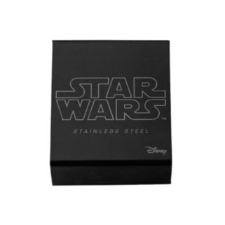 Star Wars Stainless Steel Mandalorian Symbol Pendant Necklace - Men