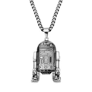 Star Wars Stainless Steel R2-D2 Pendant Necklace - Men