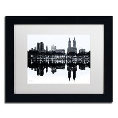 Trademark Fine Art 'Central Park West, New York II' Framed Canvas Wall Art
