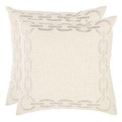 Safavieh 2-piece Sibine Throw Pillow Set