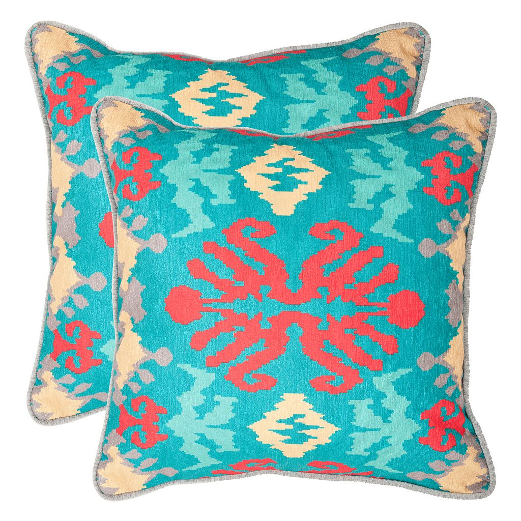 Safavieh 2-piece Rye Throw Pillow Set