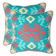 Safavieh 2 pc Rye Throw Pillow Set
