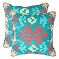 Safavieh 2 pc Rye Throw Pillow Set