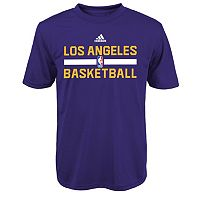 Boys 8-20 adidas Los Angeles Lakers climalite Practice Tee