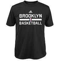 Boys 8-20 adidas Brooklyn Nets climalite Practice Tee