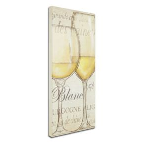 "Trademark Fine Art ""Les Blancs"" Canvas Wall Art by Daphne Brissonnet"