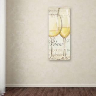 "Trademark Fine Art ""Les Blancs"" Canvas Wall Art by Daphne Brissonnet"