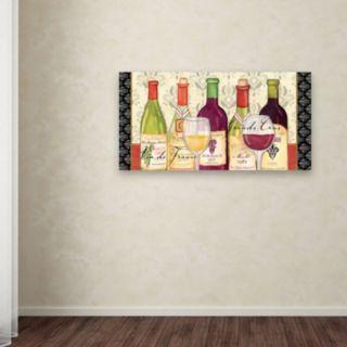 """Trademark Fine Art """"Grand Crus"""" Canvas Wall Art by Veronique Charron"""