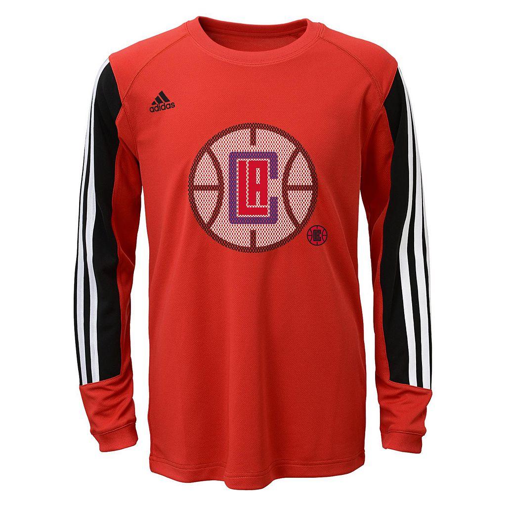 Boys 8-20 adidas Los Angeles Clippers Prestige climalite Tee