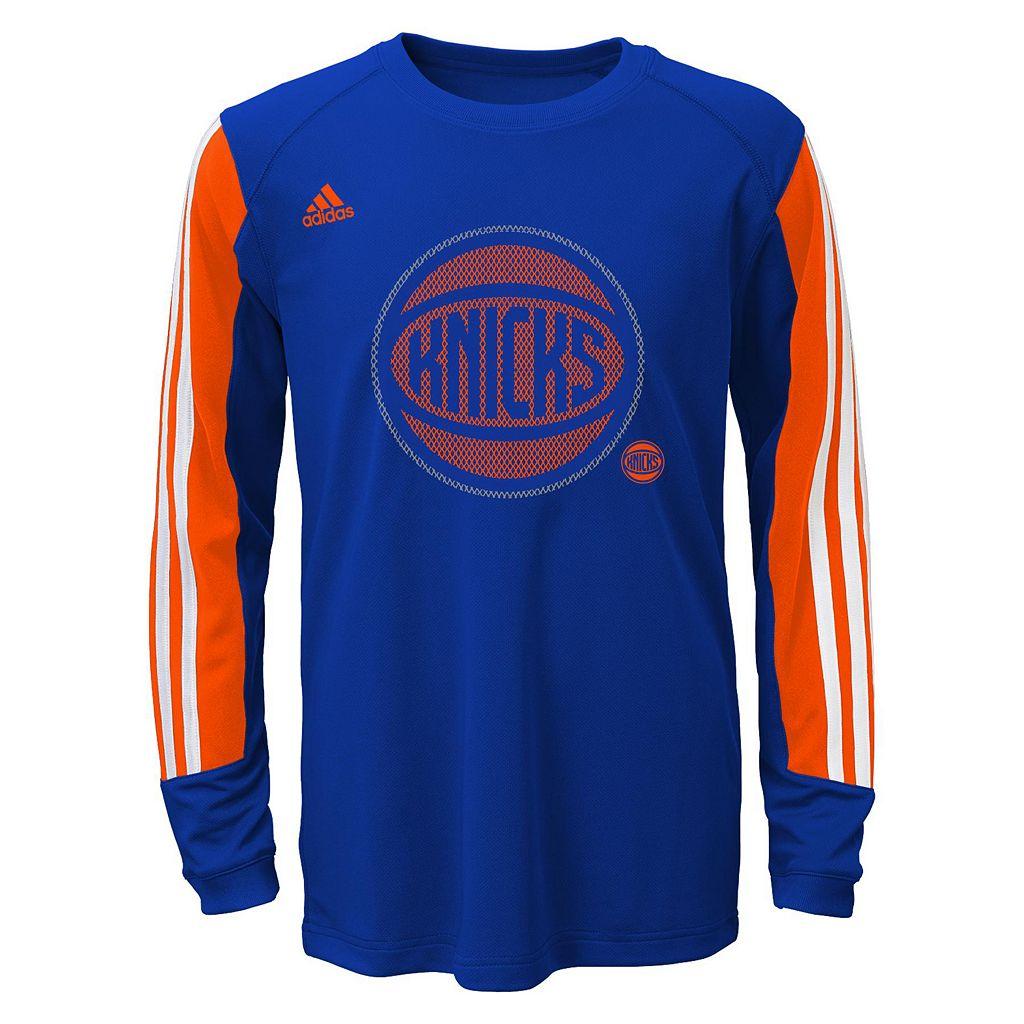 Boys 8-20 adidas New York Knicks Prestige climalite Tee